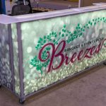 Breezes Portable Bar Warm White LED Lighting