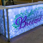 Breezes Portable Bar White LED Lighting