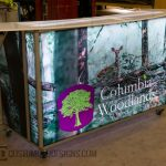 columbia woodlands portable bar