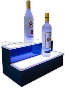 2 Step 18 Bar Shelf w/ Navy Blue Finish
