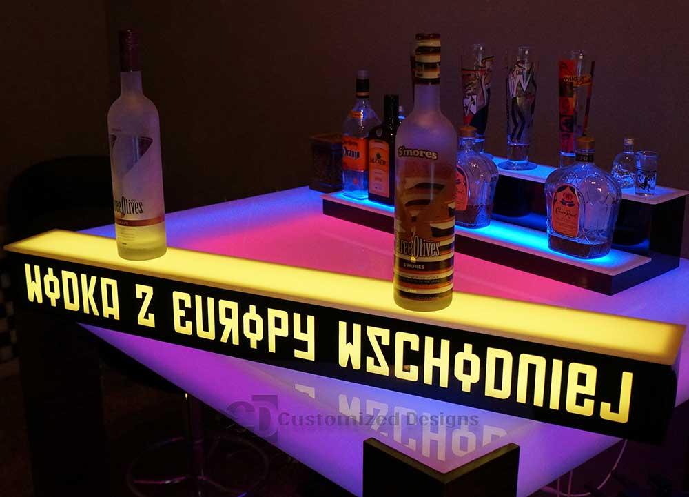 1 Step Liquor Display w/ Logo
