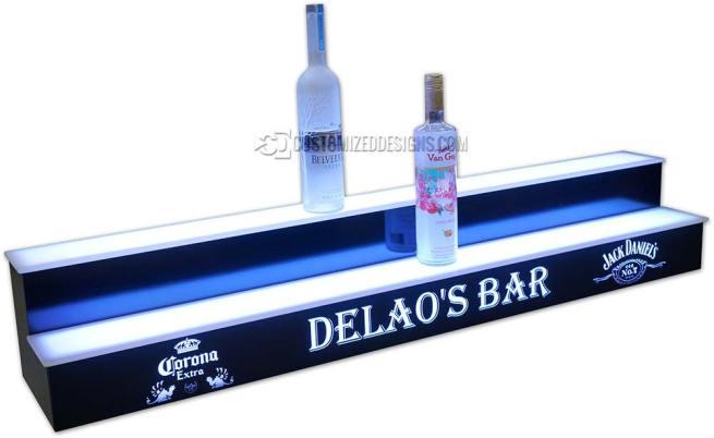 2 Tier Liquor Display