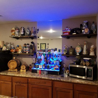 3 Tier Home Back Bar Shelf