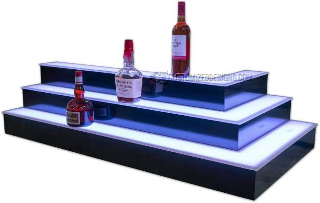 Outside Style Corner Bar Shelving