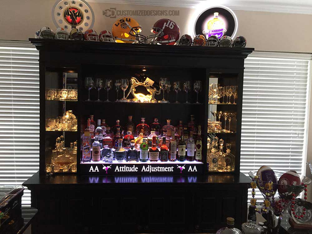 3 Tier Home Bar Display Sports Theme Home Bar Ideas Products