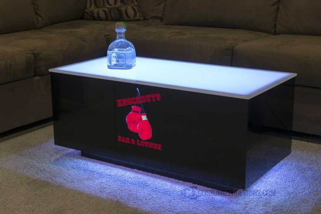 Cubix LED Nightclub Table