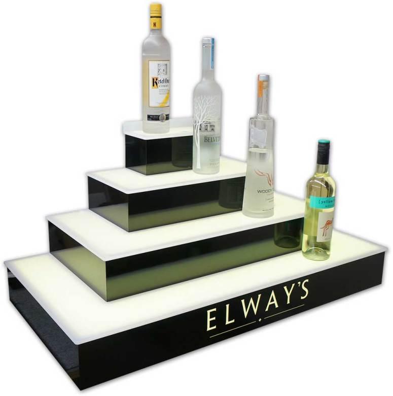 4 Tier Wrap Bar Display - Elway's