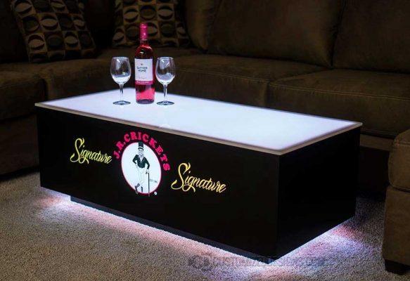 LED Nightclub Coffee Table