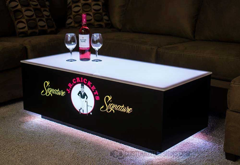 LED Nightclub Coffee Table