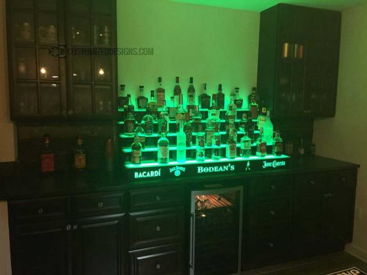 5 Tier Home Bar Shelving