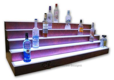 5 Step Bar Shelves