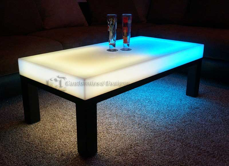 Aurora Led Coffee Table