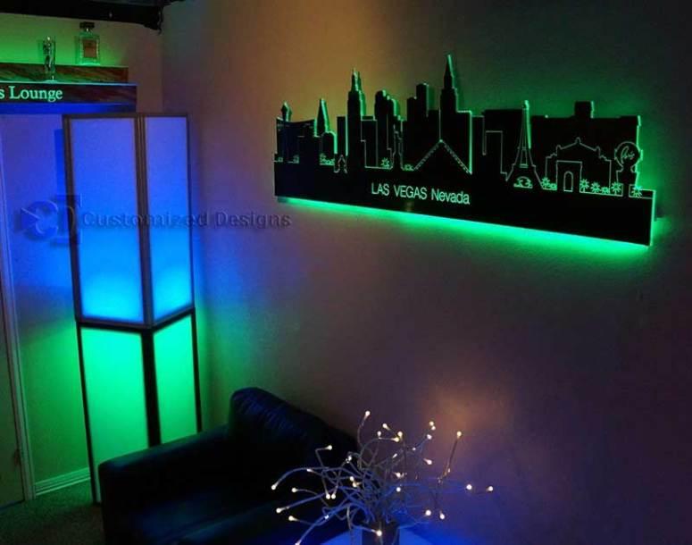 Las Vegas LED Lighted Skyline