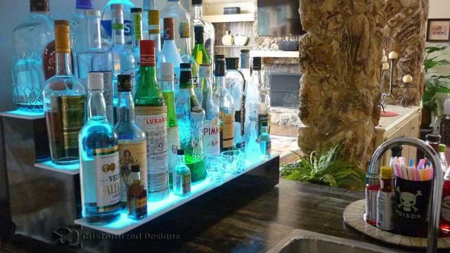 """30"""" LED Lighted Bar Shelf"""