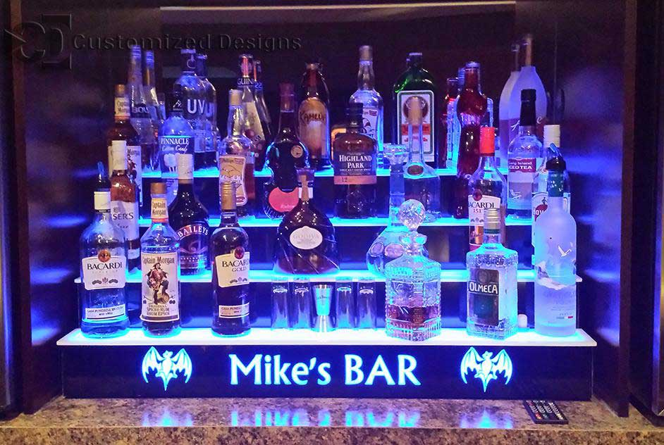 Bar Shelving Unit