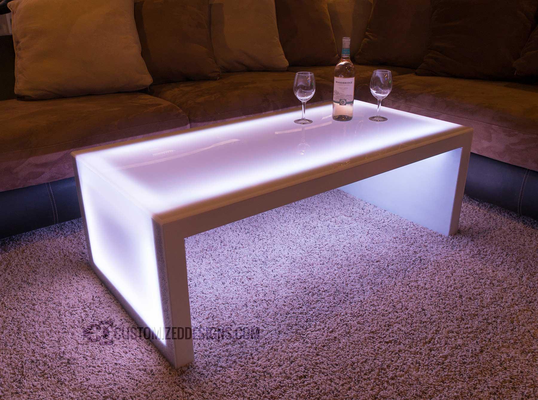 Carbon Series Led Coffee Table 2 Customizeddesigns Com