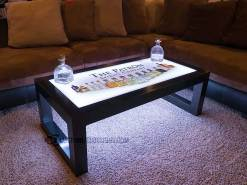 Carbon Series LED Coffee Table w/ Patron Logo