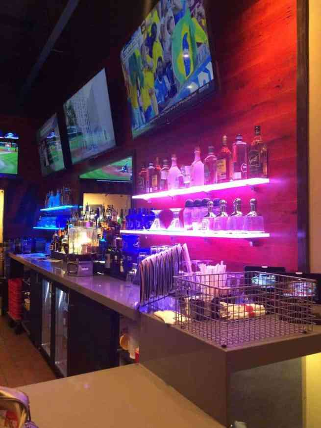 Lighted Shelves at Chili's Panama City, FL