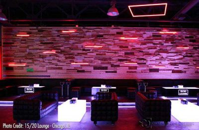 Cubix & Lumen Lighted Bar Tables
