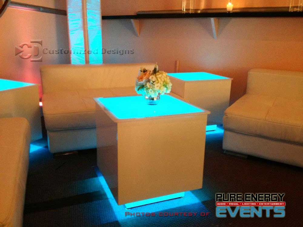 Cubix LED Lighted Tables 2