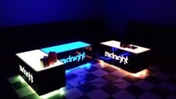 Cubix VIP Nightclub and Lounge Tables