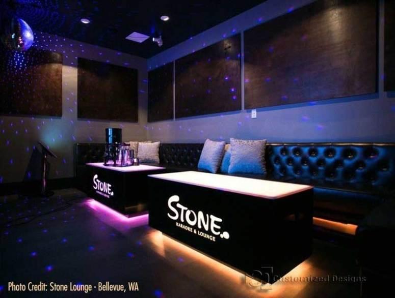 Cubix VIP Nightclub Tables