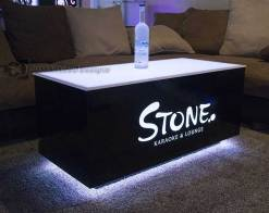 Cubix 48x24 LED Coffee Table
