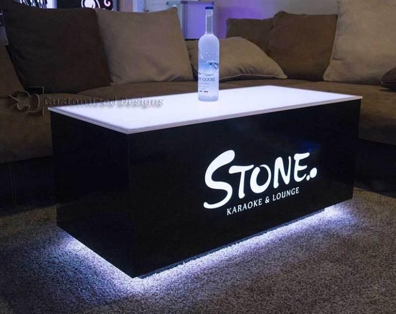 Cubix 48x24 LED Coffee Table
