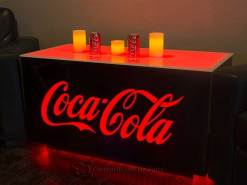 Coca Cola LED Lighted Table