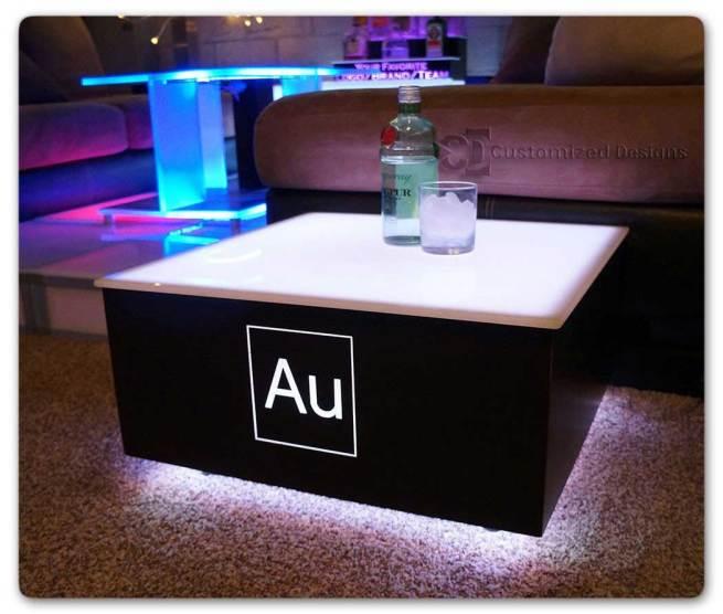 Cubix LED Illuminated Bar Table 7