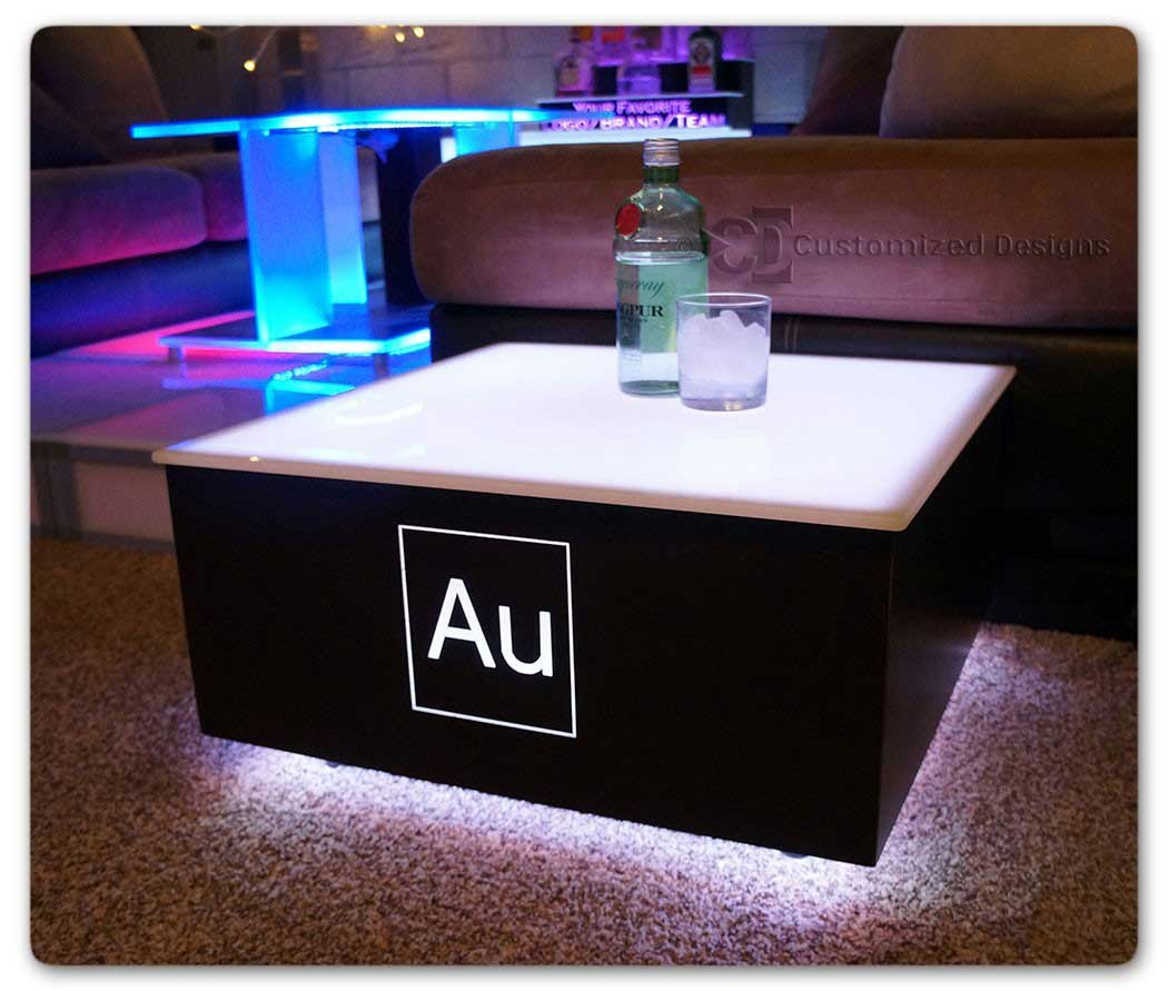 Cubix LED Illuminated Bar Table 7