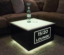 Cubix LED Illuminated Bar Table