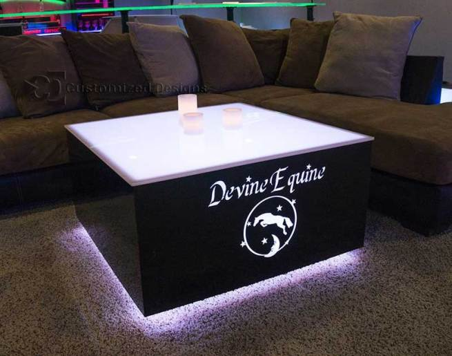 Cubix 36x36 LED Coffee Table 3