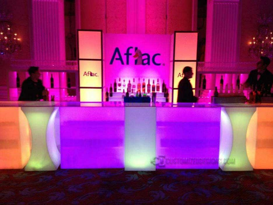 Lumen LED Lighted Event Bar