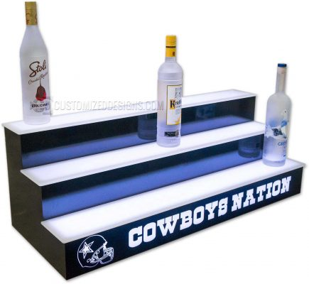 Another Dallas Cowboys Home Bar Display