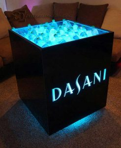 Custom Dasani Mobile Ice Bin