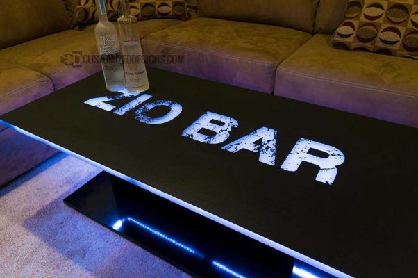 Eclipse LED Coffee Table