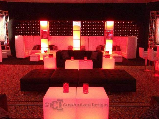 LED Lighted Tables 3