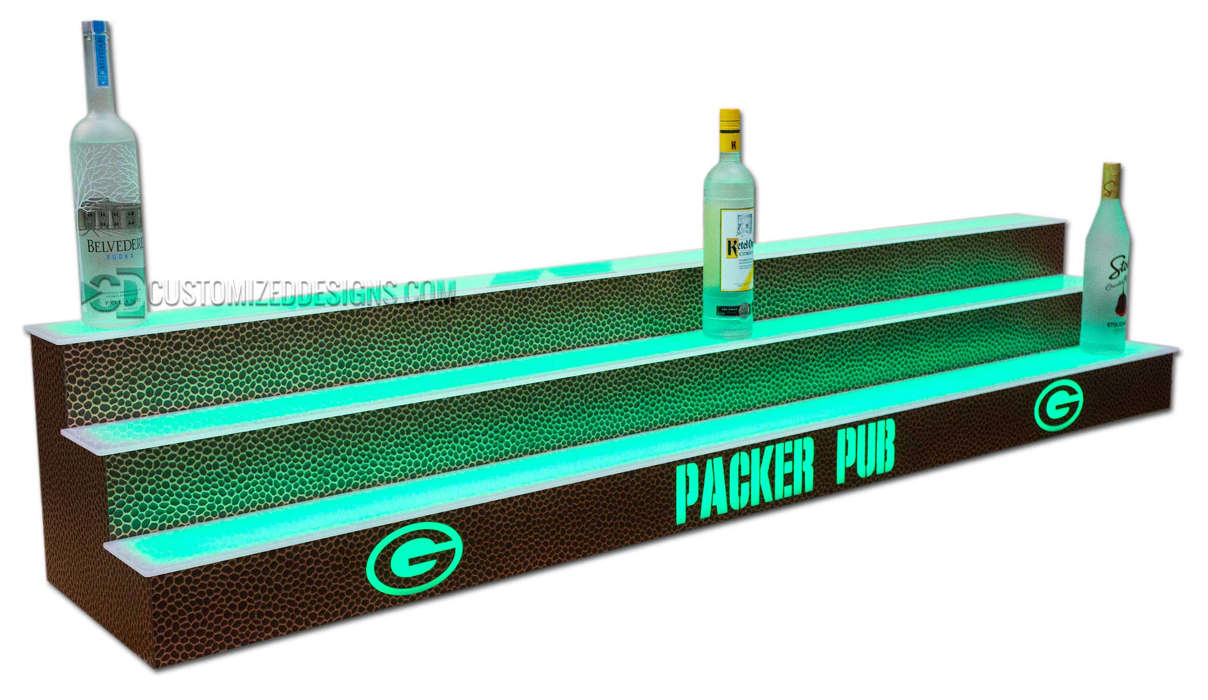 Green Bay Packers Back Bar