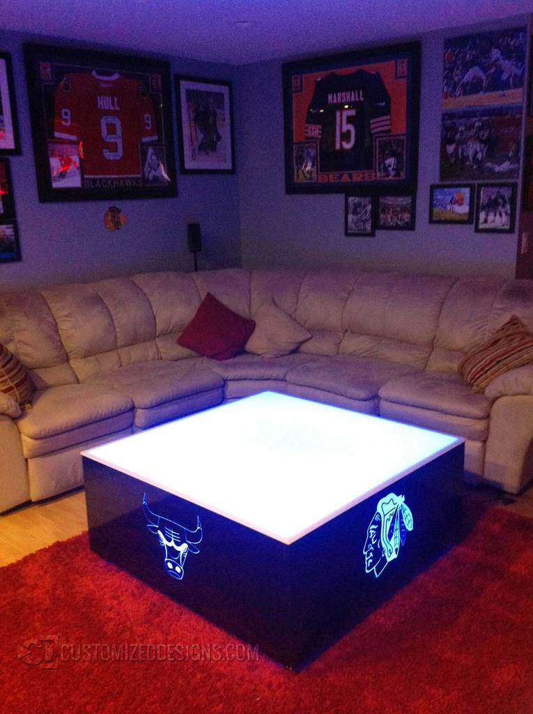 Chicago Sports LED Table