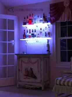 Home Mini Bar Display Shelves