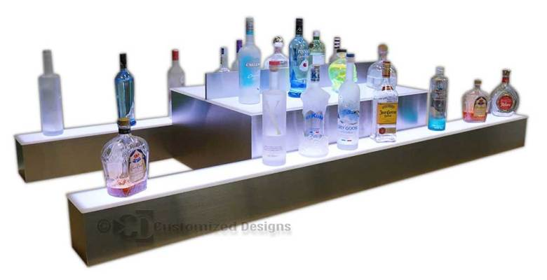 Custom Island Styled Display w/ Space for POS Systems