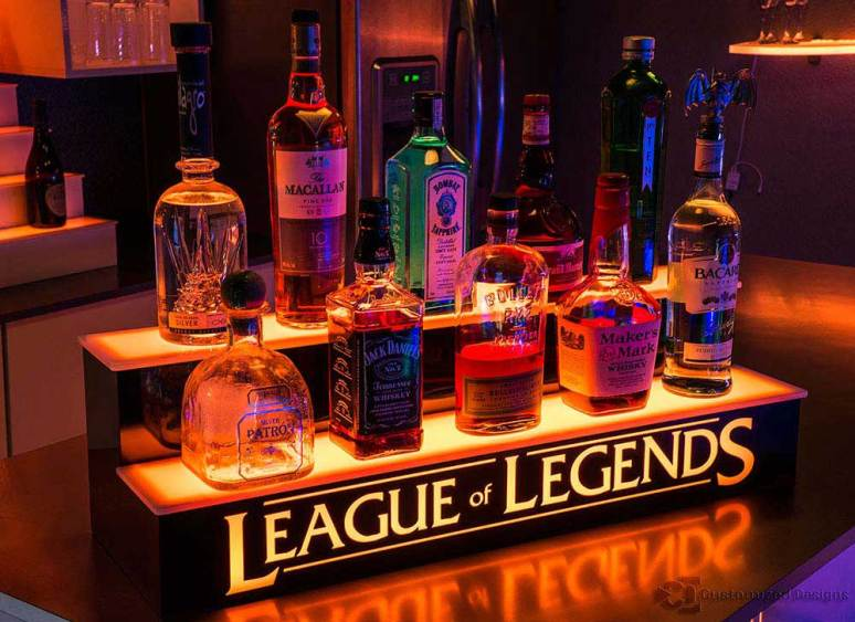 League of Legends Bar Display