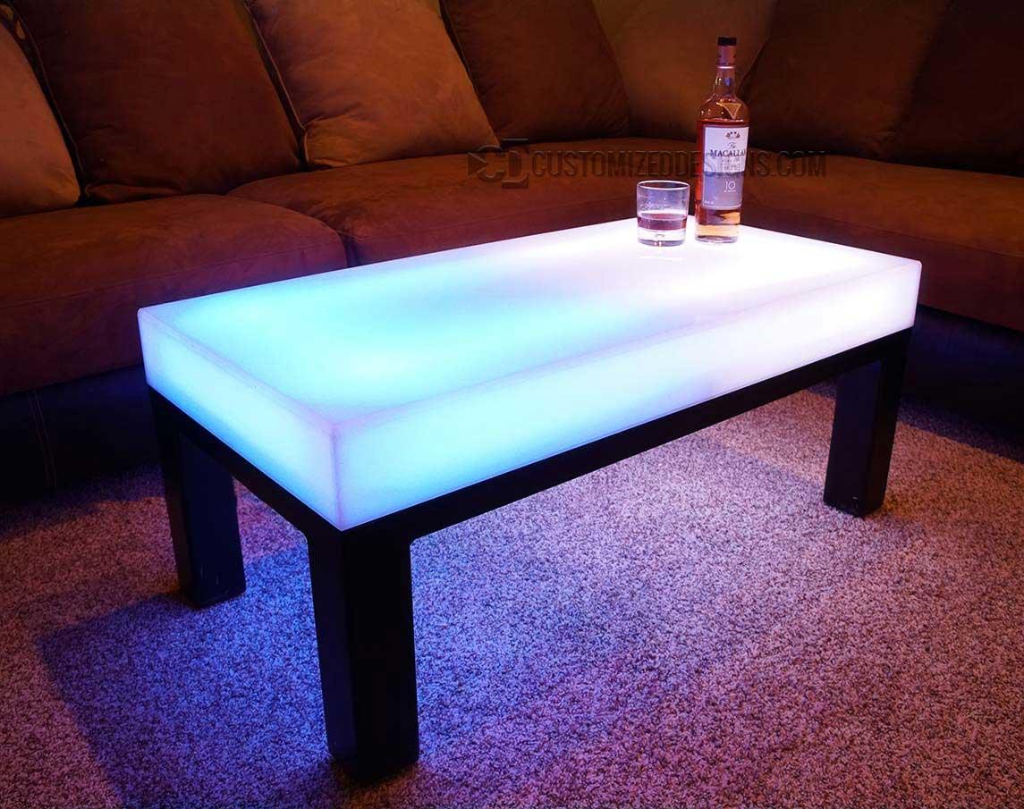 LED Coffee Table Aurora Series