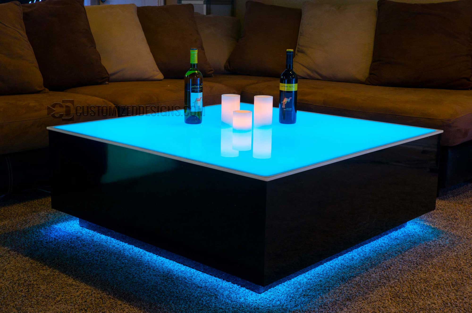 Cubix 44 X Led Coffee Table