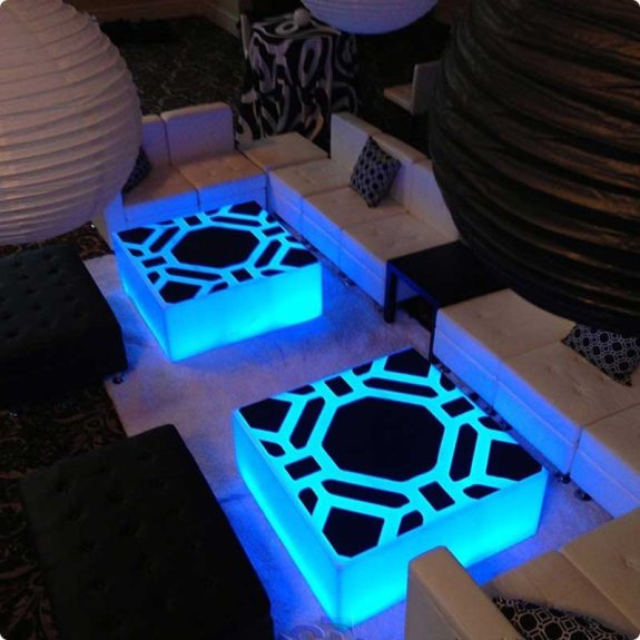 Lumen Modern LED Coffee Table