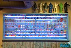 LED Shelving at Funko Games