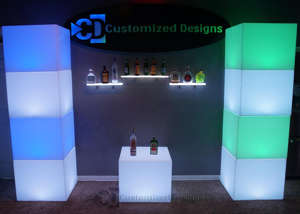 Lumen LED Lounge Cubes