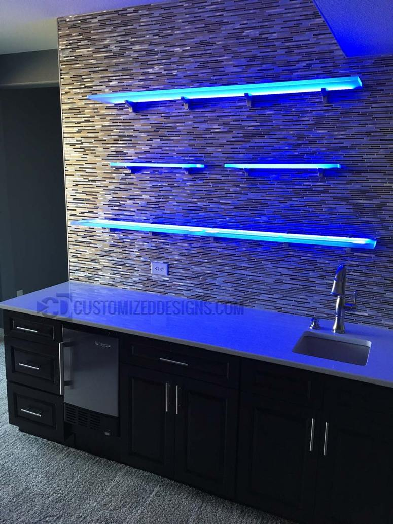 LED Floating Shelves 7