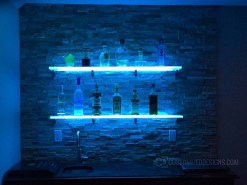 LED Shelving With Lights
